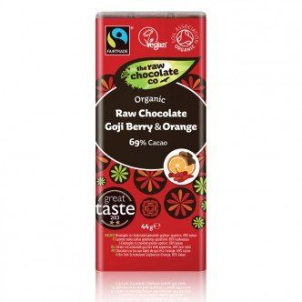 Chocolat cru bio – Baies de Goji & Orange