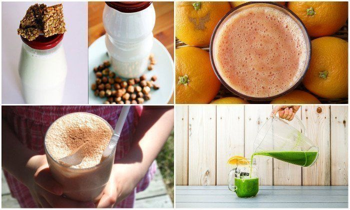 jus smoothies et breuvages