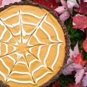Tarte à la citrouille version Halloween!